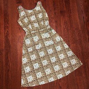 VINTAGE 1960s Cotton Dress